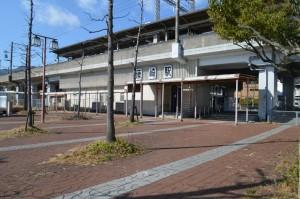 JR湖西線「唐崎」駅