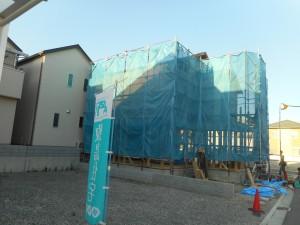 上棟しますと、家を建てているという実感が 一気に沸いてきますね。 完成後の姿が楽しみです!