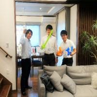 京都桃山住宅展示場:内観② 我々は真面目に楽しく、お客様と接していきます。