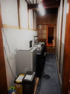◆通りにわ◆  キッチン・冷蔵庫等完備しておりますので、 長期滞在にも便利ですね☆