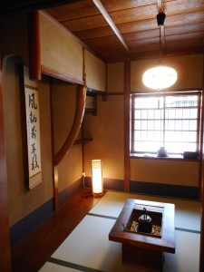 ◆店の間◆ 見せの間という意味で、 もともと商売のためのお部屋です。