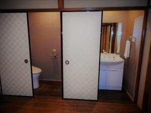 ◆洗面・トイレ◆ リフォームをしていますので キレイで使い勝手もいいです。
