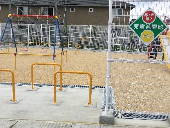 分譲地内に公園もございます。 小さなお子さまも安心して遊べますね♪