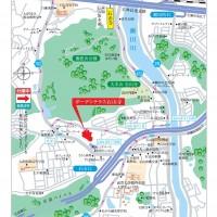 ガーデンテラス石山寺 地図