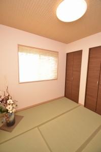 ◆和室 収納量も確保しました和室は、 来客時等にもご利用いただけます