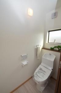 ◆2階トイレ トイレは1・2階ともに プランしてあります