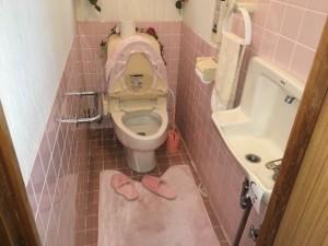トイレ -before-