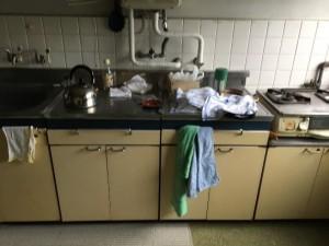 キッチン -before①-