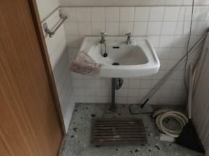 洗面台 -before-