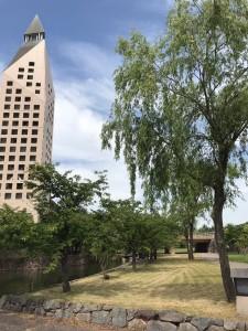 滋賀県立大学キャンパス正面のイメージ