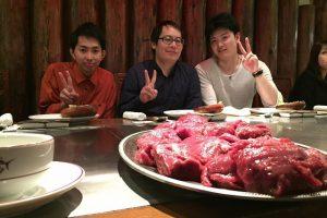 沖縄は赤身肉が主流だそうです