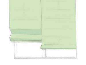 シャープシェイド: 横方向に入ったシェイパーバーによりシャープなスタイル